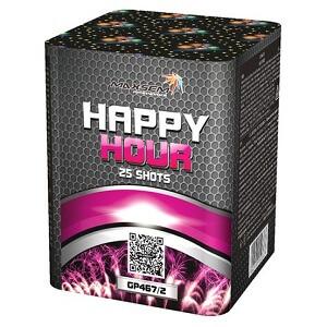 Салют для праздника happy hour